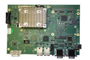 Carte CPU pour le ferroviaire