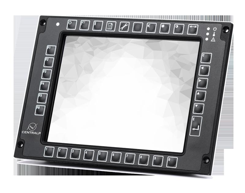 K-Vision DMI TCMS - console ferroviaire